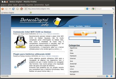 Layout padrão da janela no Ubuntu 10.04