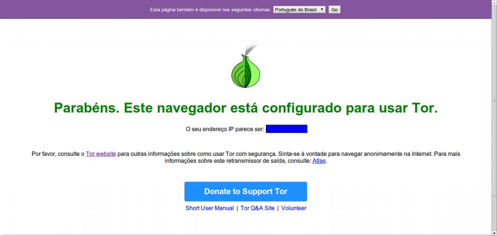 Verificação do Tor - OK