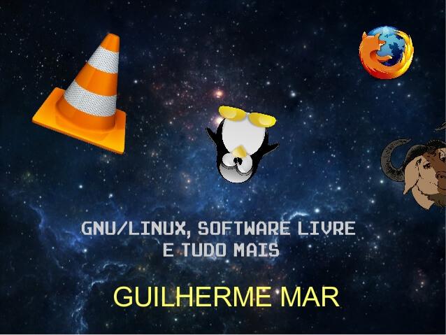 GNU/Linux, Software Livre e Tudo Mais - CPBr7 1