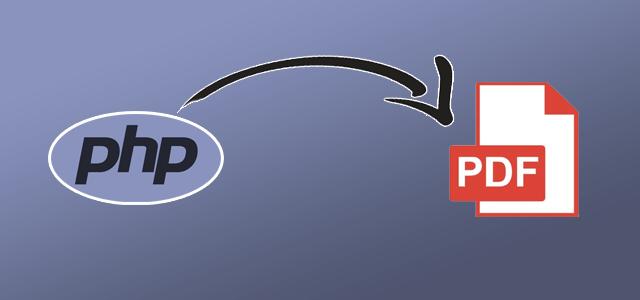 Convertendo HTML/PHP para PDF